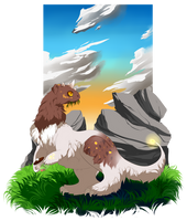 Grypwolf Deal #01 by Laura-ARPG