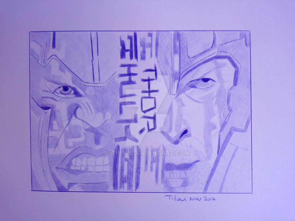 Thor Ragnarok by Tiloui