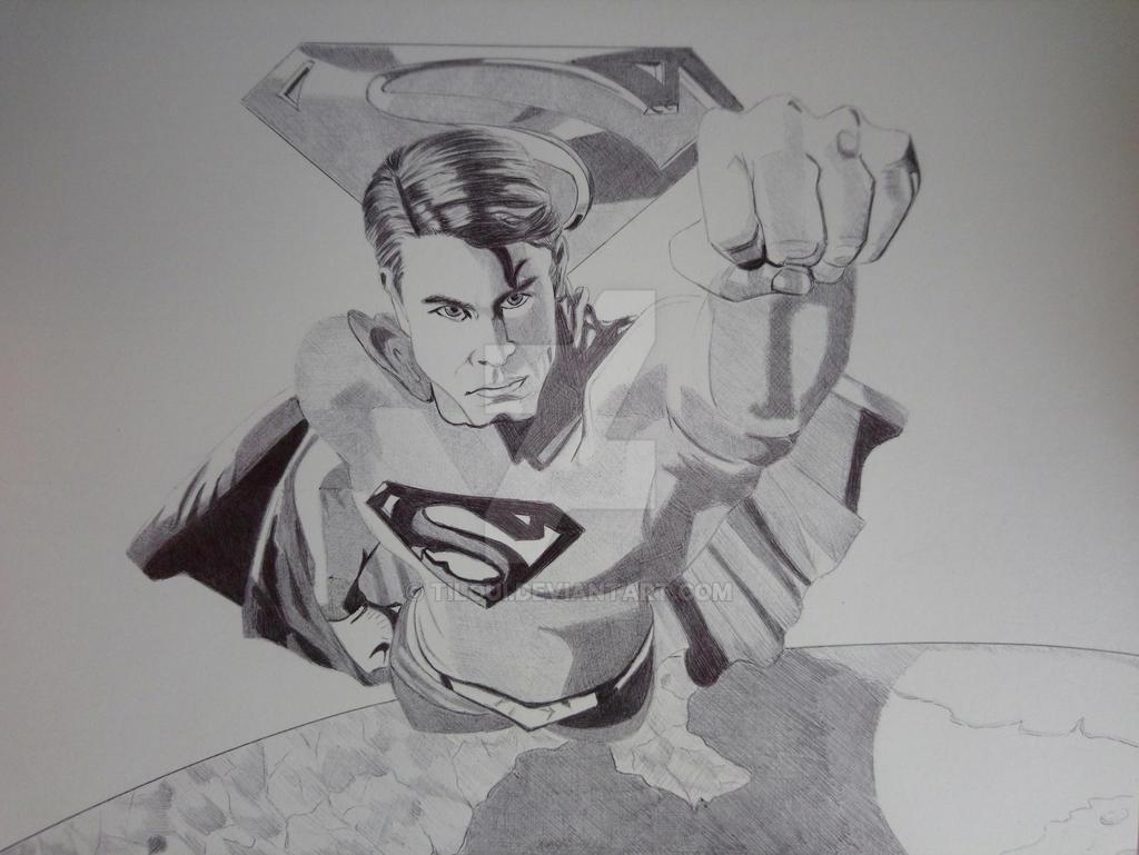 Superman return BlackBallpoint pen !!! by Tiloui