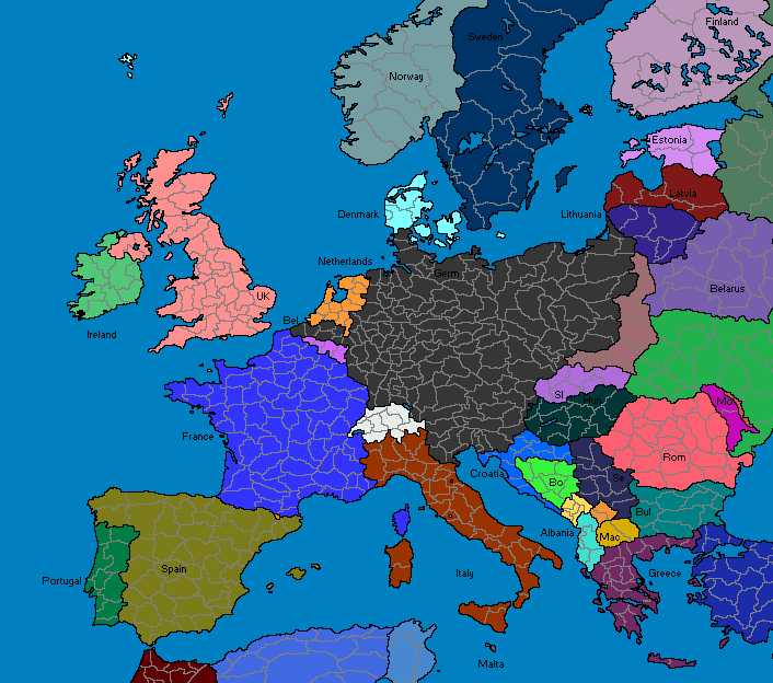 Greater Germany Gross Deutschland 4