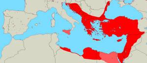 Graecian Empire 600CE (alternate history)