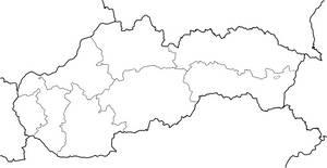 Slovakia Administrative Divisions