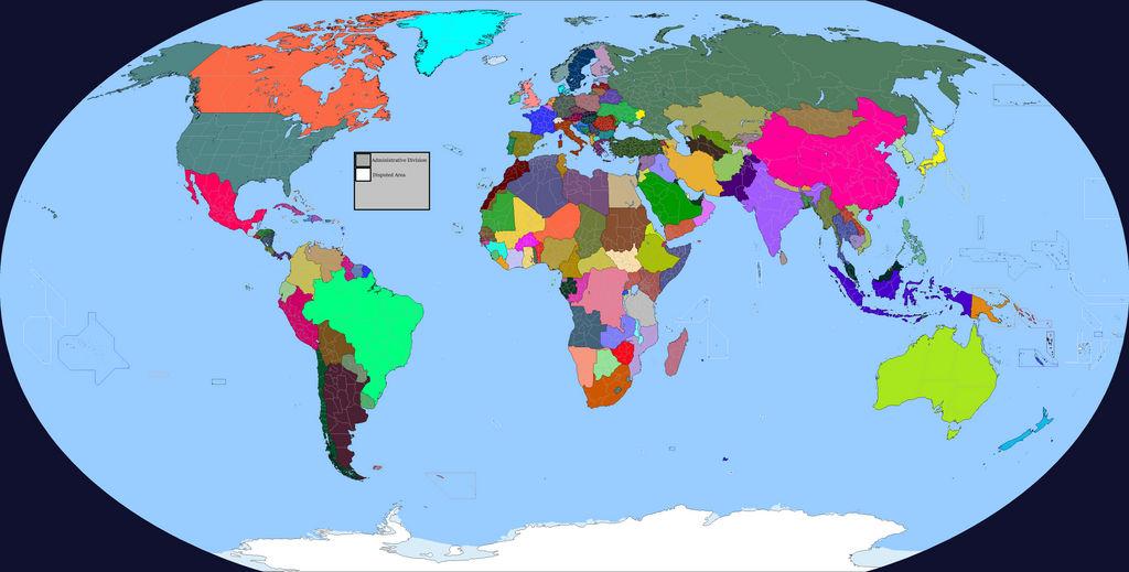 Stav's World Map (Edited by Geograd) Re-Upload 1.0