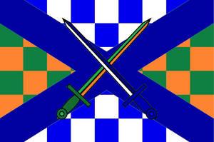 Flag of Catholic State Ireland Scotland