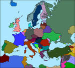 Map of Europe All Situations 2015