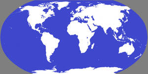 Map of the World Globe Projection
