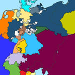Map of the German Confederation in 1815