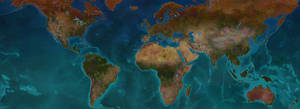 Europa Universalis IV Geographical Map w/ Province