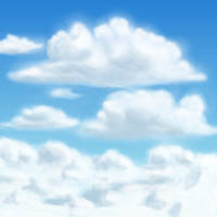 Clouds are...