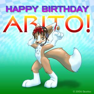 Happy Birthday, Arito