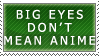 Big Eyes Stamp by SkybornJazzHands
