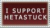 I Support Hetastuck (Stamp) by SkybornJazzHands