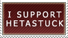 I Support Hetastuck (Stamp) by SkybornJazzHands
