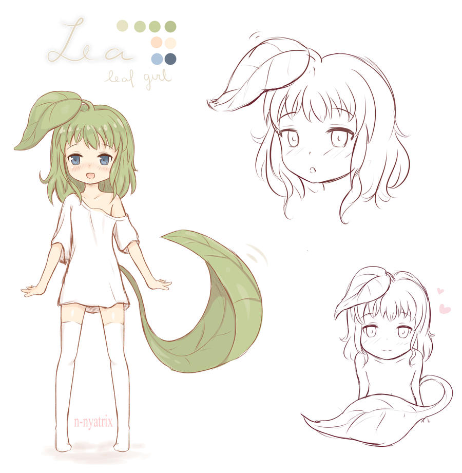 Lea - Concept Art by n-nyatrix