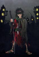 The Blind Girl by acazigot