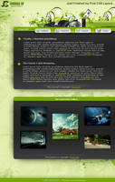 Sleek Green CSS by KRoNiC-fx