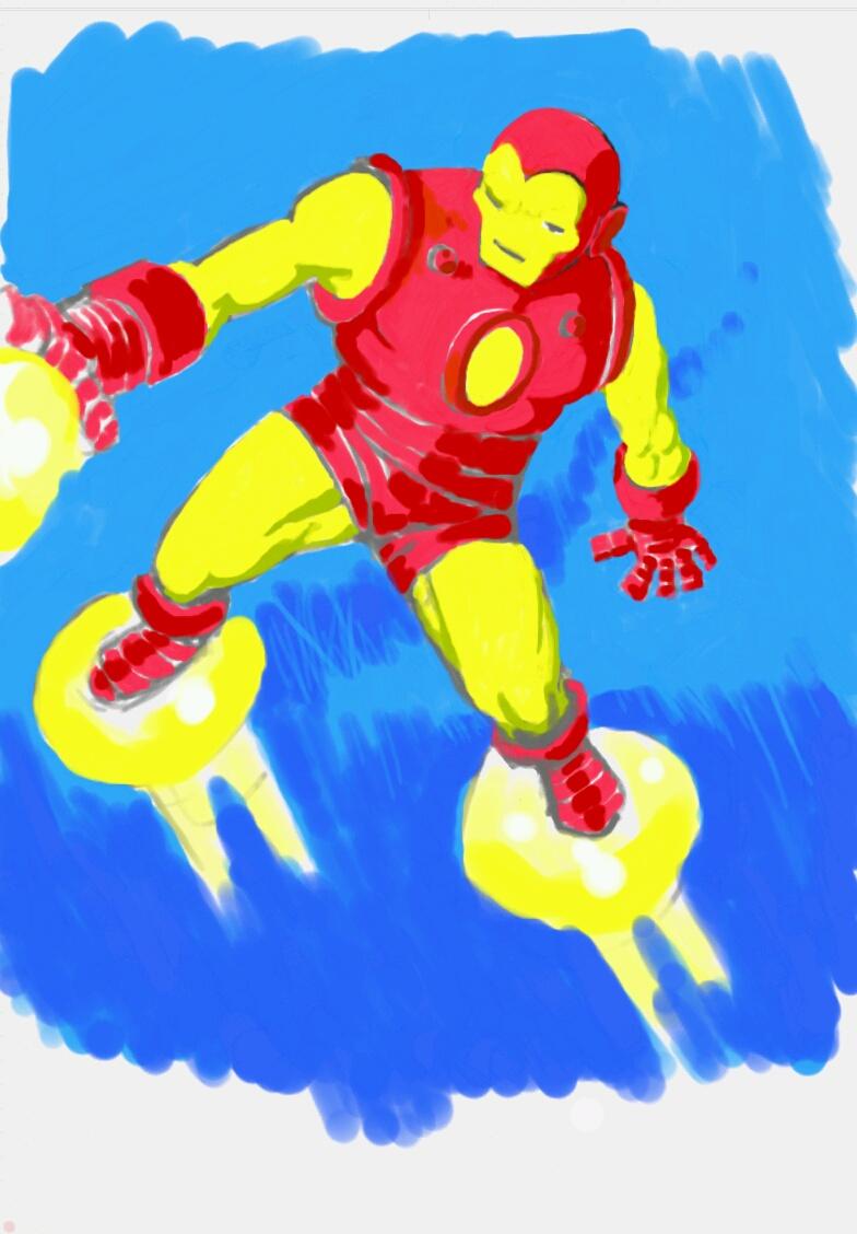 Galaxy Note Iron Man by GeePeeDee