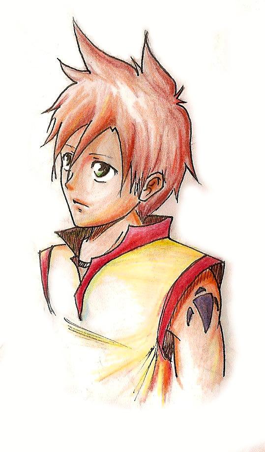 .:DaniDL's Gallery:. Riku_a_color_by_danidl-d30k086