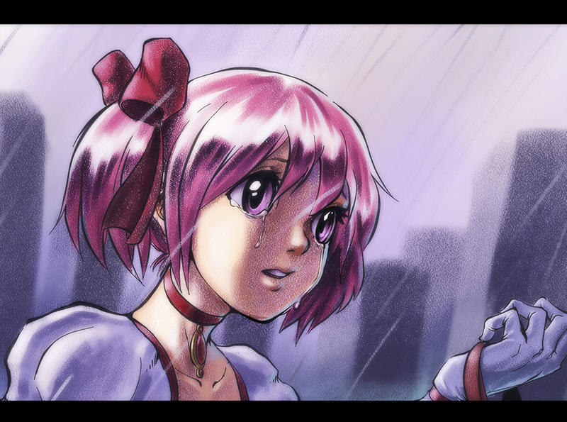 The Sadness of Madoka by DaniDL
