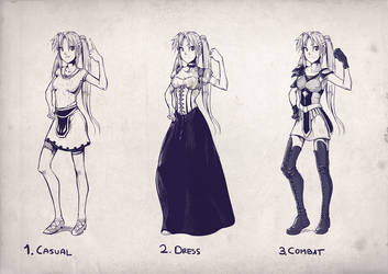 Wear Concept: Misaki by DaniDL