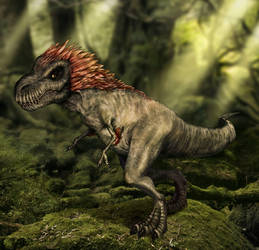 Kind of Feathered T-Rex by DaniDL