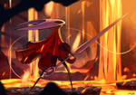 Hornet in Silksong Fan art