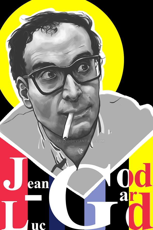 Monsieur Godard by IVACUGO