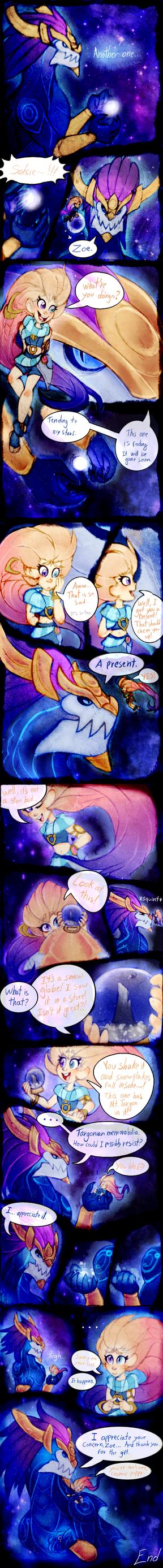 Aurelion Sol and Zoe comic by MonoShuga