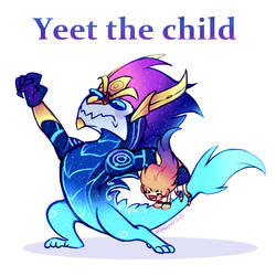 Zoe and Aurelion Sol - Yeet The Child