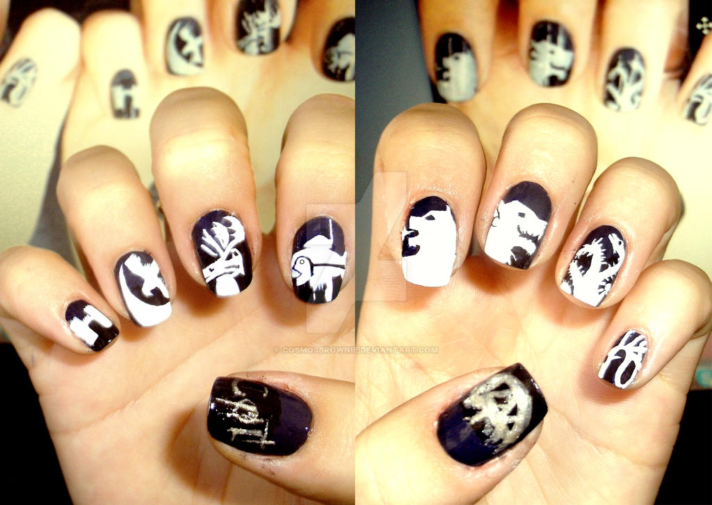 Game of Thrones Nails by CosmosBrownie on DeviantArt
