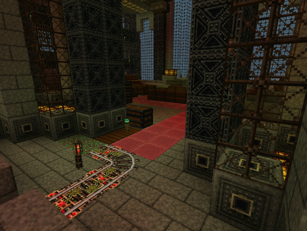 Wonderful Wallpaper Minecraft Steampunk - minecraft_steampunk_cathedral_by_infernofly-d5773og  Trends_685216.png