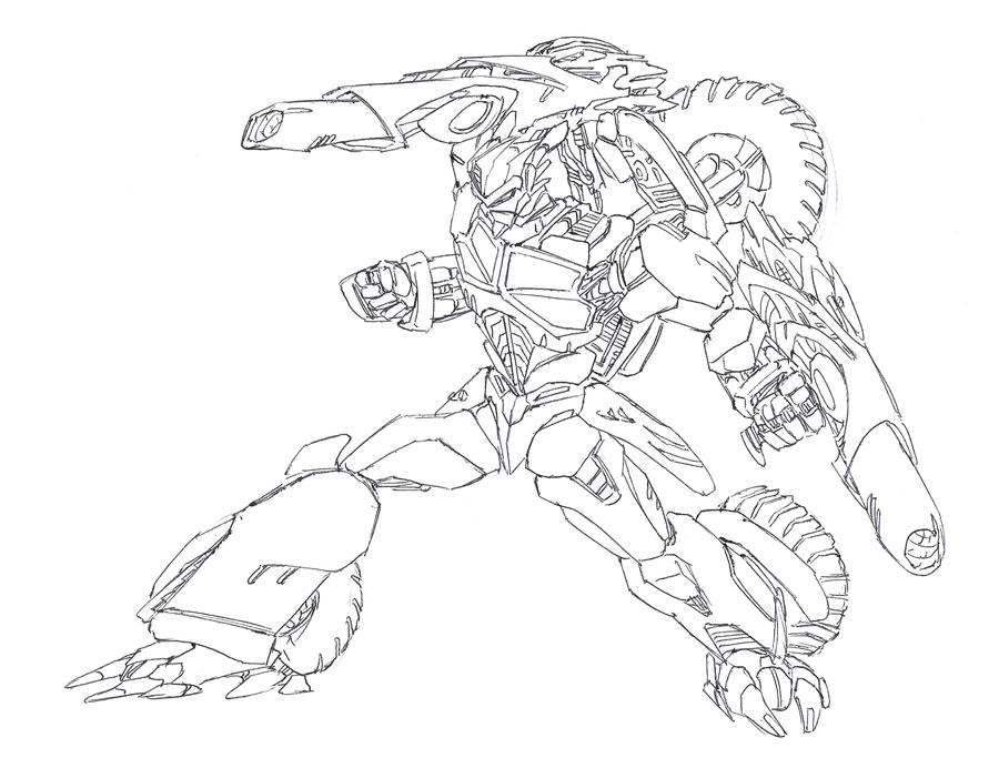 halo coloring pages - halo combat evolved free coloring pages