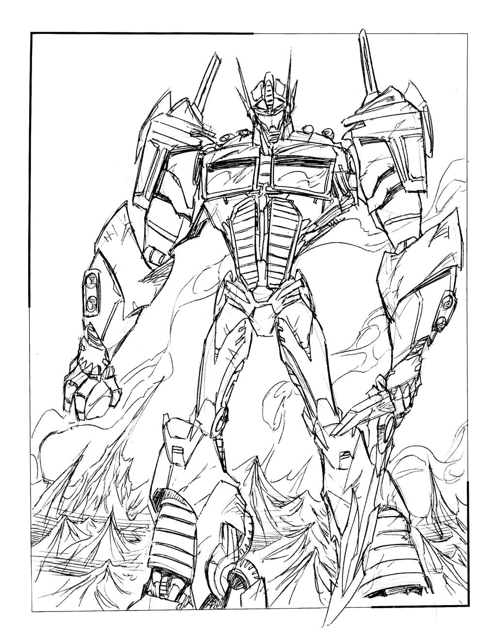 coloring pages optimus prime flash page eume with - Transformers Prime Coloring Pages