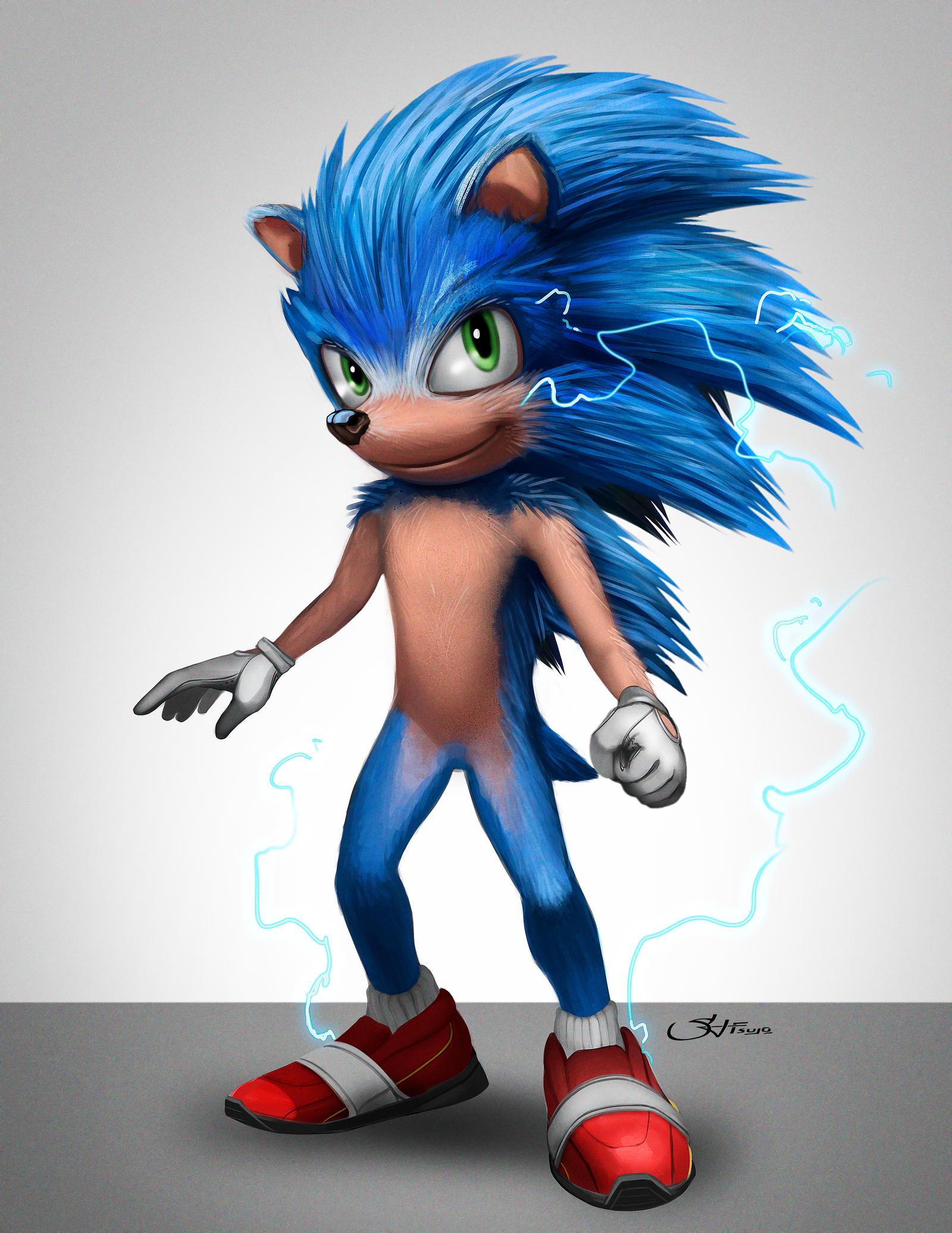 Sonic The Hedgehog Movie Design Fix By Cheetor182 On Deviantart