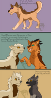 Rock v. Feather Females by Patch21