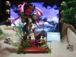 pirate bunny figurine