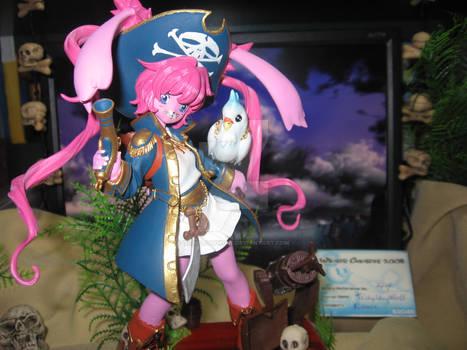 pirate bunny figurine 2