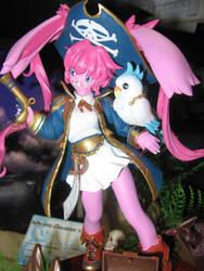 pirate bunny figurine 4