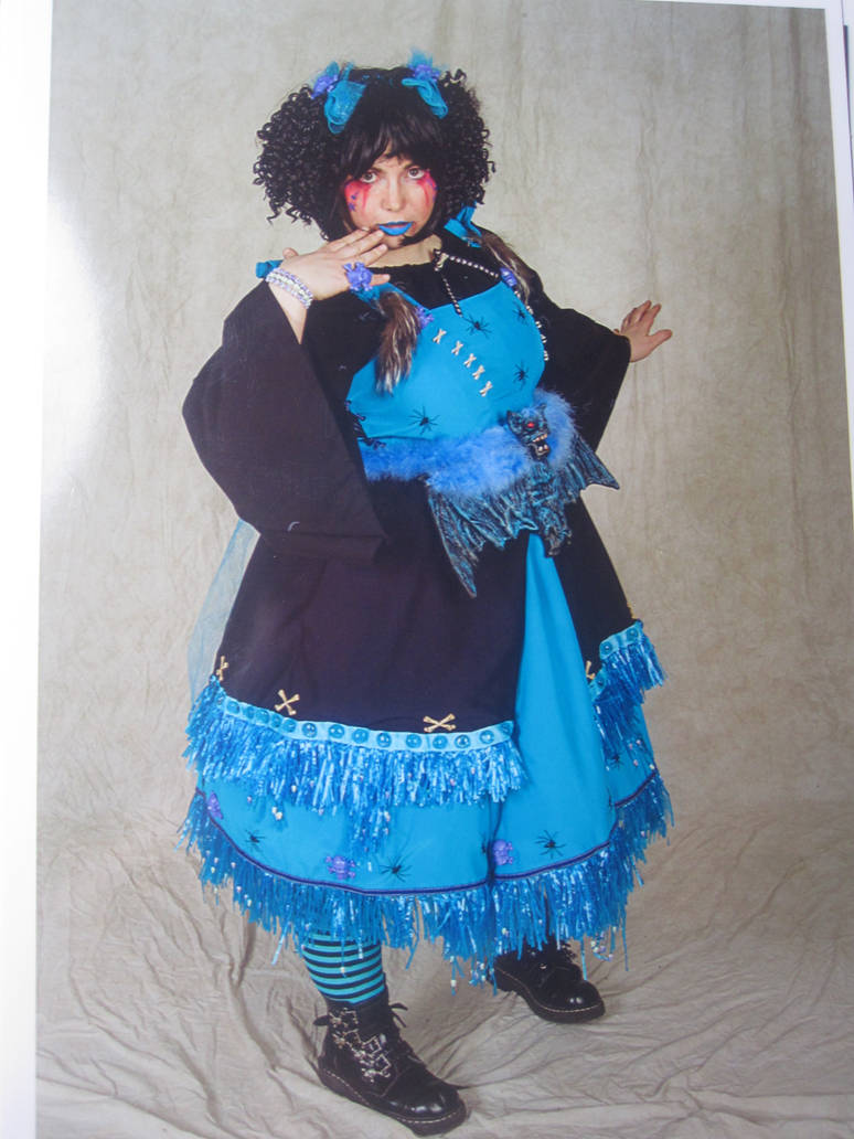 blue vooodoo  lolita ish girl 1