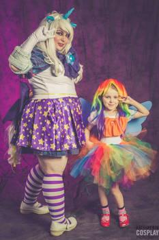 sailor trixie and sailor rapid dash