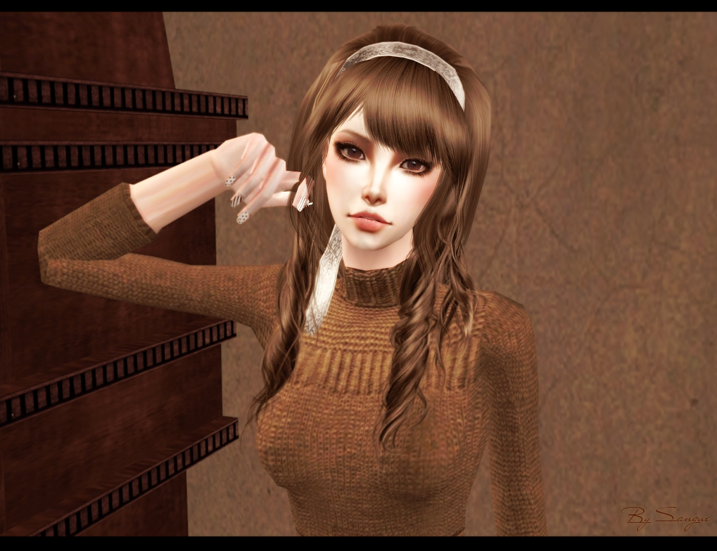 [TS2] Fresh Bun Eyed Doll Face. by Sakuravitaminka