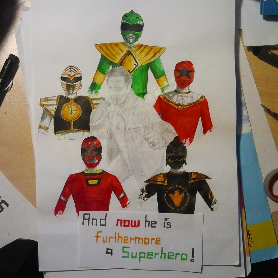 JDF A Real Superhero by Meellowstar