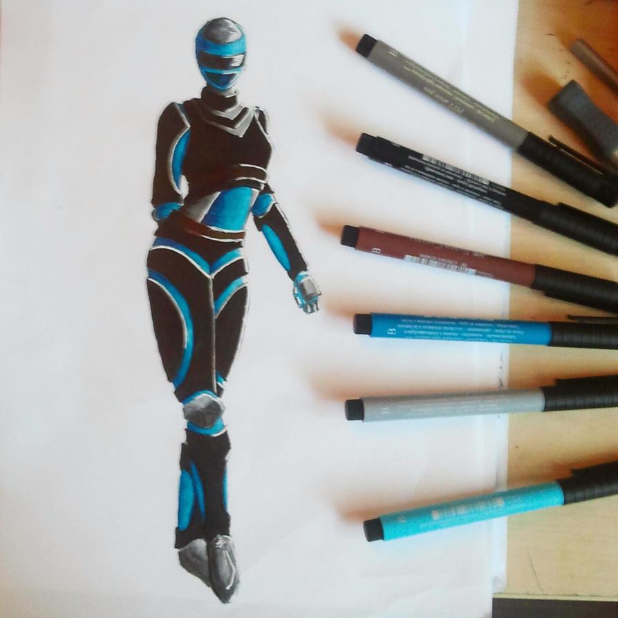 Futuristic Armor by Meellowstar