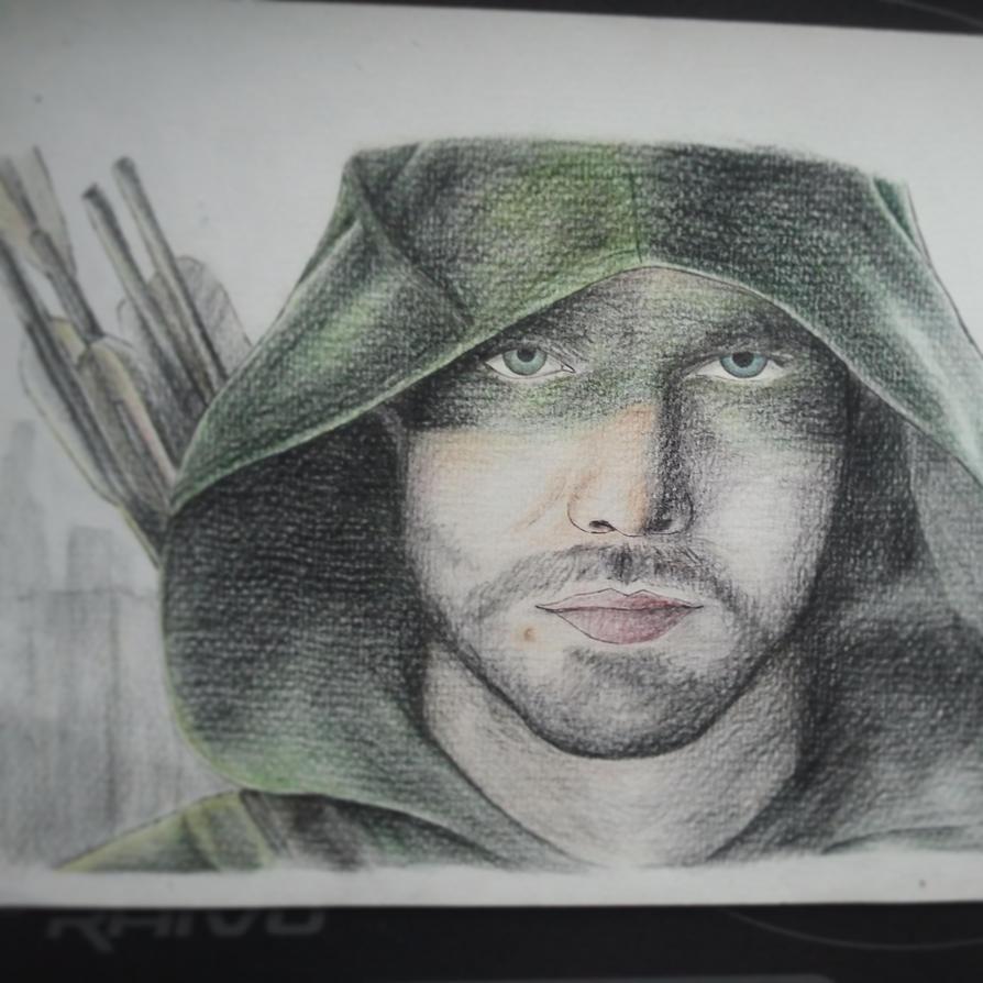 Arrow Fanart by Meellowstar