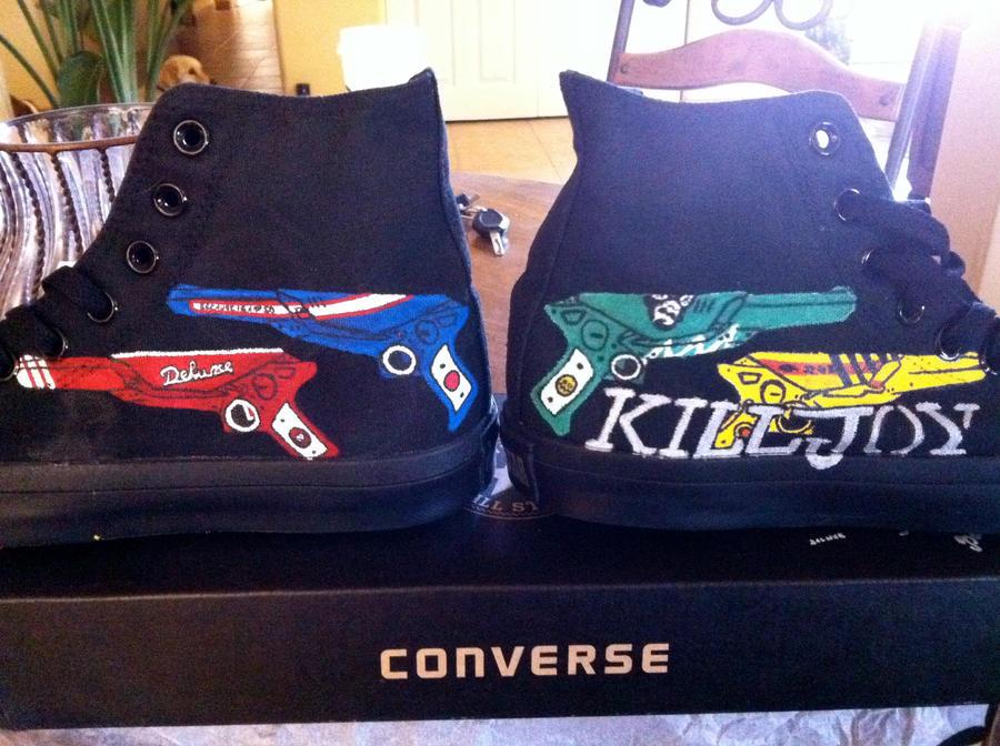Killjoy Shoes-Finished Product by IerosWay