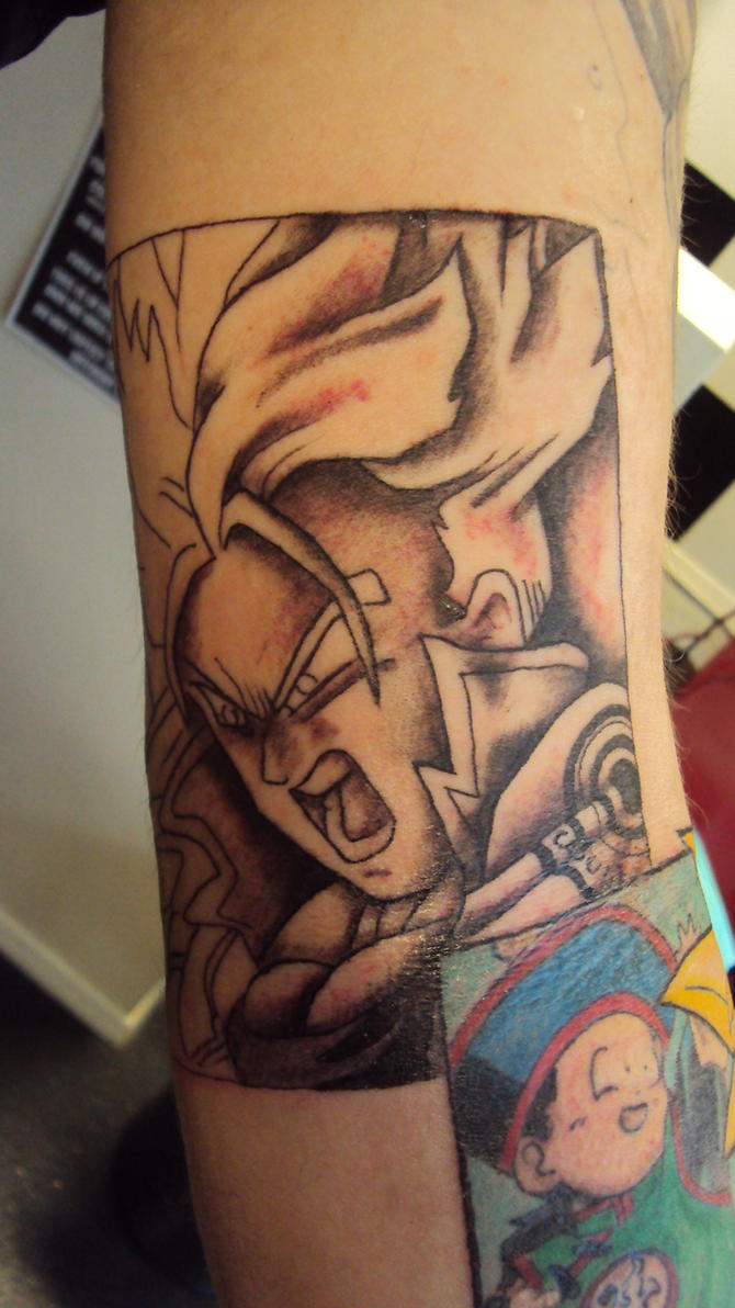 Future Trunks Tattoo by hulfie