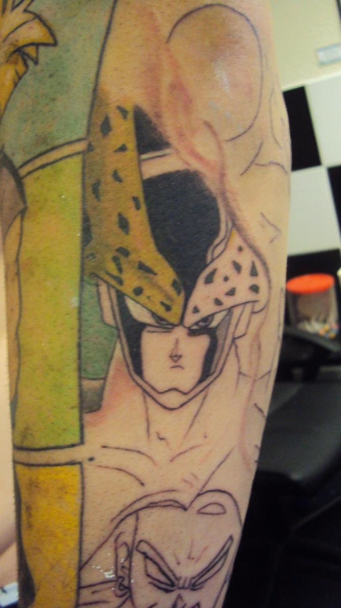 Dragonball tattoo by hulfie on deviantart for Dragon balls tattoo