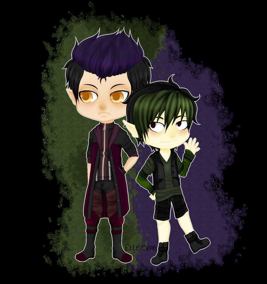 Damon and Eli by EllisCrab