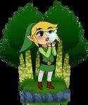 Toon Link Meets a Fairy
