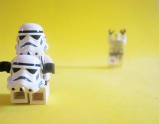 Star wars (LEGO) by Gattusparrow